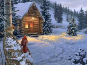 дед мороз идет в херсон